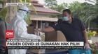 VIDEO: Pasien Covid-19 Gunakan Hak Pilih Pilkada Semarang