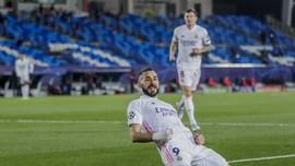Real Madrid Unggul atas Monchengladbach di Babak I