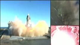 VIDEO: Detik-detik SpaceX Meledak Usai Mendarat
