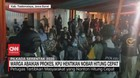 VIDEO: Warga Abaikan Prokes, KPU Hentikan Nobar Quick Count