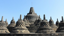 Candi Borobudur Tutup Dua Hari Dukung 'Jateng di Rumah Saja'