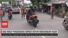 VIDEO: Aksi Nekat Pengendara Sepeda Motor Menghindari Razia