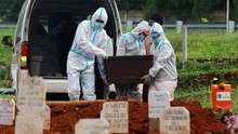 Sejuta Kasus Positif Disusul Rekor Kematian Covid
