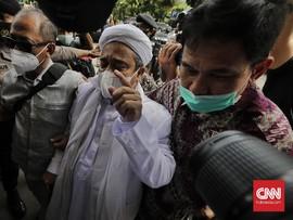 Rizieq Banding Vonis 4 Tahun, Tolak Opsi Pengampunan Jokowi
