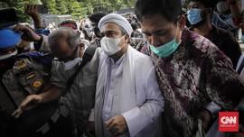 Tim MER-C Datangi Polda Metro Cek Kesehatan Rizieq Shihab
