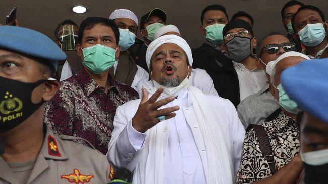 Karena takut dan khawatir, pentolan FPI Rizieq Shihab disebut enggan memakan makanan dari pihak rutan dan memilih hanya mengonsumsi kiriman dari keluarga.