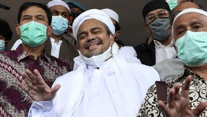 Rizieq Shihab: Saya Belum Pantas Disebut sebagai Imam Besar