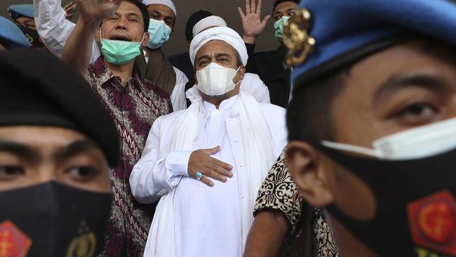 Rizieq mengaku membuat pernyataan menolak membuka hasil swab PCR corona saat dirawat di RS Ummi Bogor karena khawatir dipolitisasi dan jadi bahan teror buzzer.
