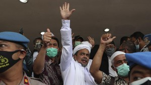 Pengacara Ungkap Rizieq Tolak Opsi Pengampunan Jokowi