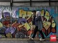 FOTO: Menggairahkan Jalan Jaksa Lewat Mural
