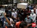 FOTO: Unjuk Rasa Pencari Suaka di Kantor UNHCR Jakarta
