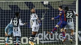 Hasil Liga Spanyol: Messi Bawa Barcelona Atasi Levante