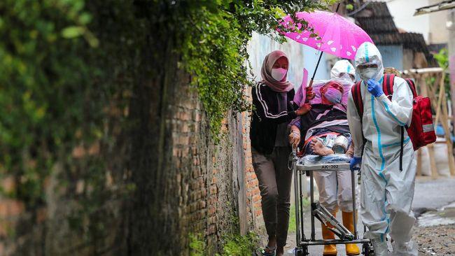 Positif Covid-19 di Indonesia mencapai 1.614.849 kasus pada Selasa (20/4), sementara angka kematian terkait virus corona menembus angka 43.777 orang.