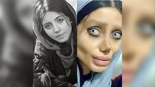 Menistakan Agama, 'Angelina Jolie' versi Iran Dibui 10 Tahun