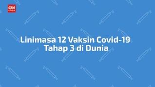 VIDEO: Pembuatan 12 Vaksin Covid-19 Tahap 3 di Dunia
