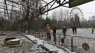 FOTO: Sudut-sudut yang Meleleh dalam Tragedi Nuklir Chernobyl
