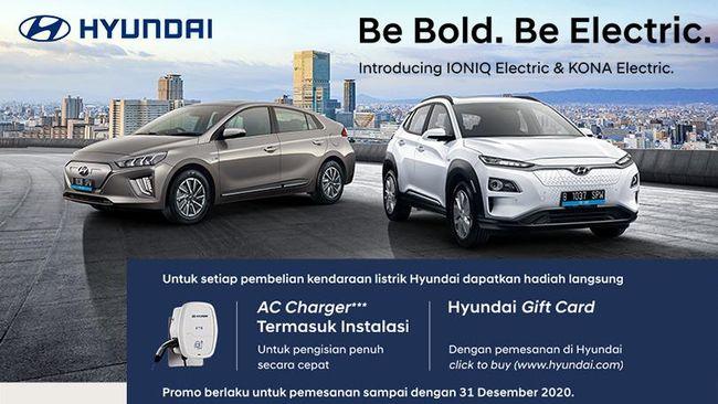 2 Mobil Listrik Hyundai Mengaspal Di Ri Ini Keunggulannya