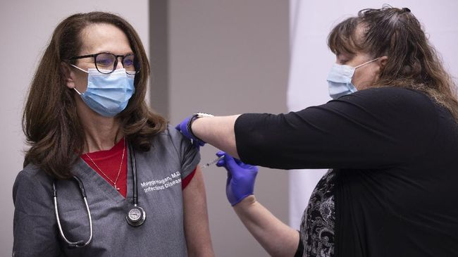 Vaksinasi virus corona di beberapa kota di Jerman terpaksa ditunda karena terkendala suhu pendingin.