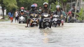 43 Desa di Lamongan Terendam, Tanggulangin Darurat Banjir