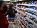 FOTO: Supermarket Timbun Makanan Jelang Brexit