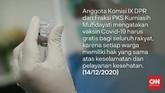 Rencana vaksinasi Covid-19 di Indonesia menjadi polemik karena pemerintah menerapkan dua skema yakni gratis dan berbayar