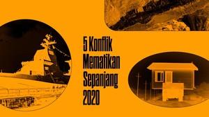 INFOGRAFIS: 5 Konflik Mematikan Sepanjang 2020