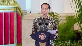 Pesan Natal Jokowi: Umat Kristiani Jangan Putus Asa