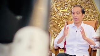 Jokowi Minta Masyarakat Tak Khawatir Mutasi Corona B117