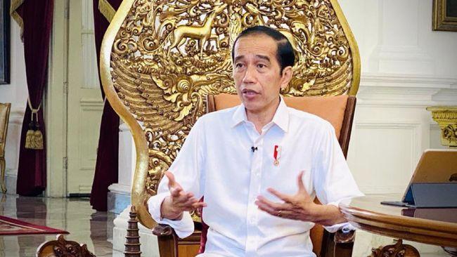 Presiden Joko Widodo menegaskan bahwa vaksin covid-19 sudah tersedia di Indonesia hanya tinggal menunggu waktu diberikan kepada warga.