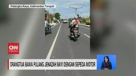 VIDEO: Orangtua Bawa Pulang Jenazah Bayi dengan Sepeda Motor