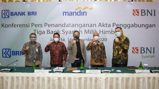 Merger tiga bank syariah BUMN PT Bank Syariah Indonesia digadang-gadang sebagai bank syariah dengan aset terbesar di dalam negeri.