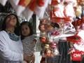 FOTO: Corona Buat Omzet Dekorasi Natal Anjlok 50 Persen