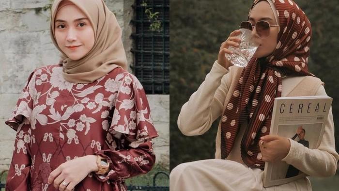 Referensi Gaya Hijab Segiempat Simple dan Modis ala Influencer