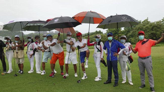 Turnamen golf persahabatan yang bertajuk Ajeg Bali Golf Tourism telah digelar pada 10-13 Desember 2020 di Bali.