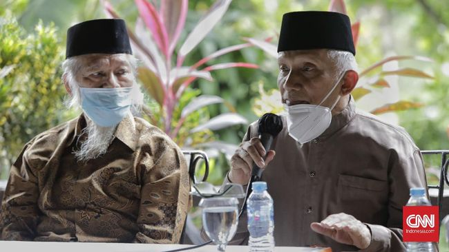 Amien Rais dkk menemui Presiden Jokowi meminta kasus penembakan laskar FPI dibawa ke Pengadilan HAM.