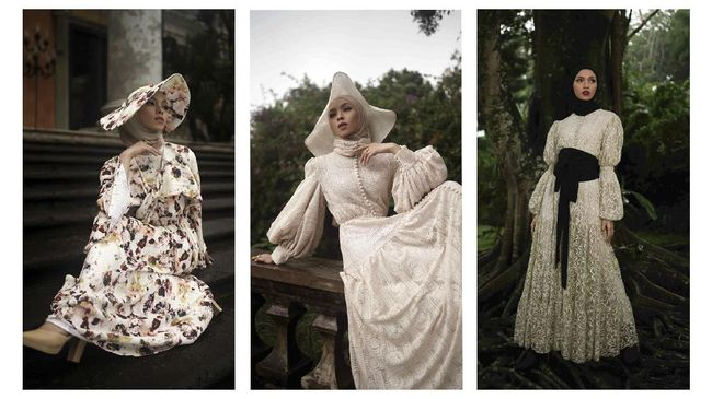 Rumah Mode Barli Asmara meluncurkan koleksi terbarunya Romantic Nostalgia. Koleksi ini merupakan desain terakhir Barli Asmara sebelum meninggal.