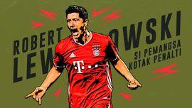 INFOGRAFIS: Robert Lewandowski, Si Pemangsa Kotak Penalti