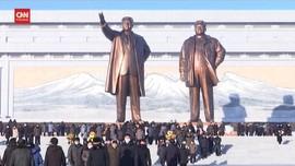 VIDEO: Warga Korut Rayakan 9 Tahun Meninggalnya Kim Jong-il