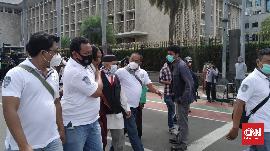 Aksi 1812 Dibubarkan Paksa, Polisi Tangkap Sejumlah Orang