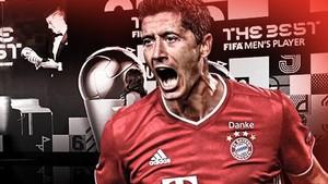 Lewandowski Terbaik Dunia 2020