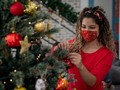 Butik Masker Spanyol Buat Inspirasi Kado 'Pandemi' Tema Natal