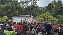 Ricuh di Rekapitulasi Pilkada Yalimo, 1 Polisi Terkena Panah