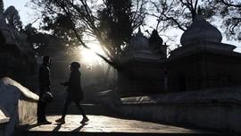 FOTO: Syahdu Beribadah Lagi di Kuil Kathmandu