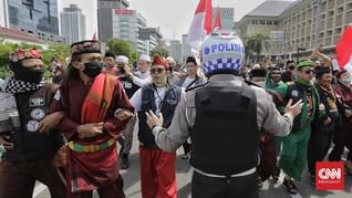 Korlap Aksi 1812 Ogah Tanggung Jawab Polisi Tersabet Samurai