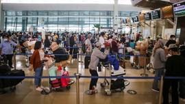 AP II Ramal Puncak Mudik Natal di Bandara Soetta 23 Desember