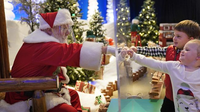 WHO mengizinkan Sinterklas meramaikan perayaan Natal tahun ini di tengah pandemi virus corona.