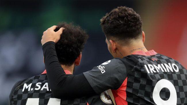 Kekalahan Liverpool dari Everton memunculkan statistik buruk terkait performa trio 'Firmansah': Roberto Firmino, Sadio Mane, dan Mohamed Salah.