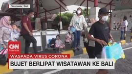 VIDEO: Bujet Berlipat Wisatawan ke Bali