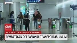 VIDEO: Pembatasan Operasional Transportasi Umum