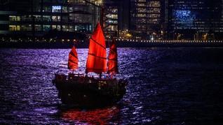 FOTO: Ujung Umur Kapal Jung Hong Kong di Tengah Pandemi